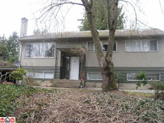Photo 1: 17111 80TH Avenue in Surrey: Fleetwood Tynehead House for sale : MLS®# F1105695