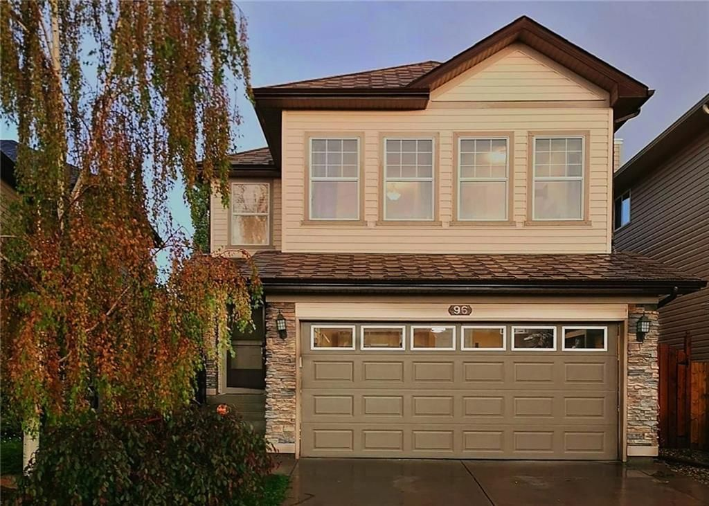 Main Photo: 96 CRANFIELD Park SE in Calgary: Cranston Detached for sale : MLS®# C4257213
