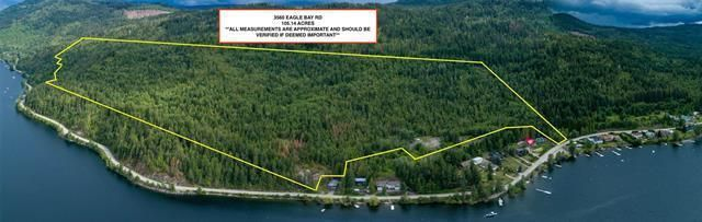 Main Photo: 3560 Eagle Bay Road, in Eagle Bay: Vacant Land for sale : MLS®# 10240459