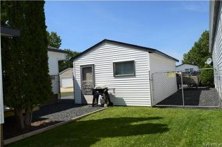 Photo 18: 7 LOUISE Street in St Clements: Pineridge Trailer Park Residential for sale (R02)  : MLS®# 1721037