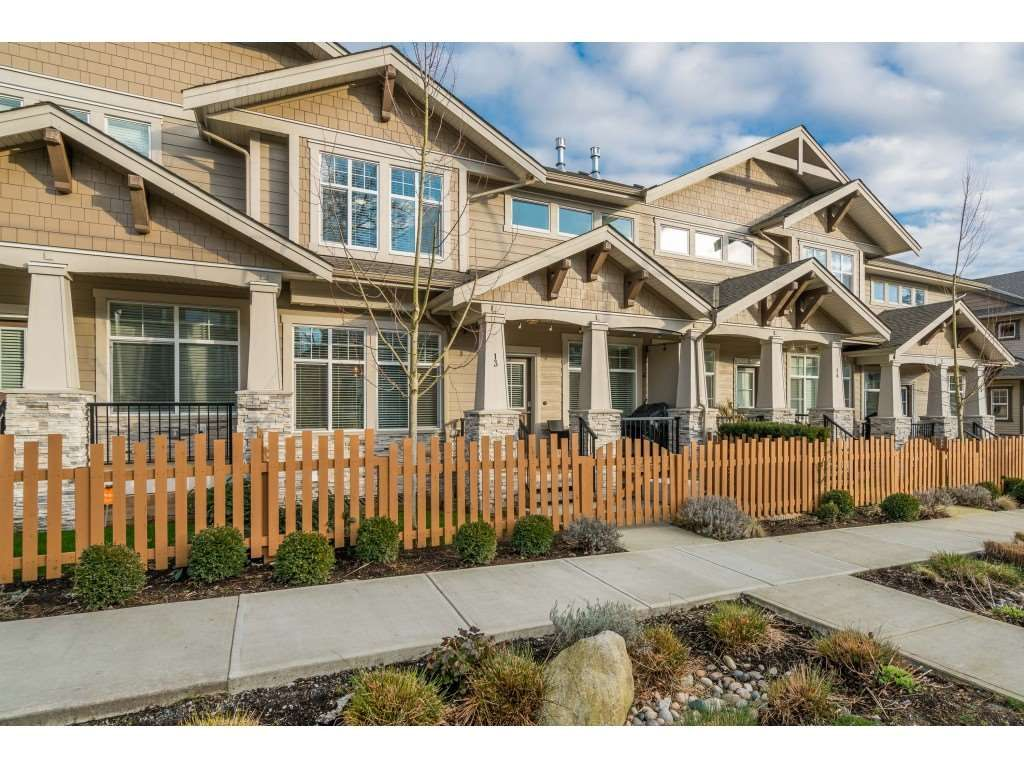"""Main Photo: 13 7138 210 Street in Langley: Willoughby Heights Townhouse for sale in """"Prestwick at Milner Heights"""" : MLS®# R2538094"""