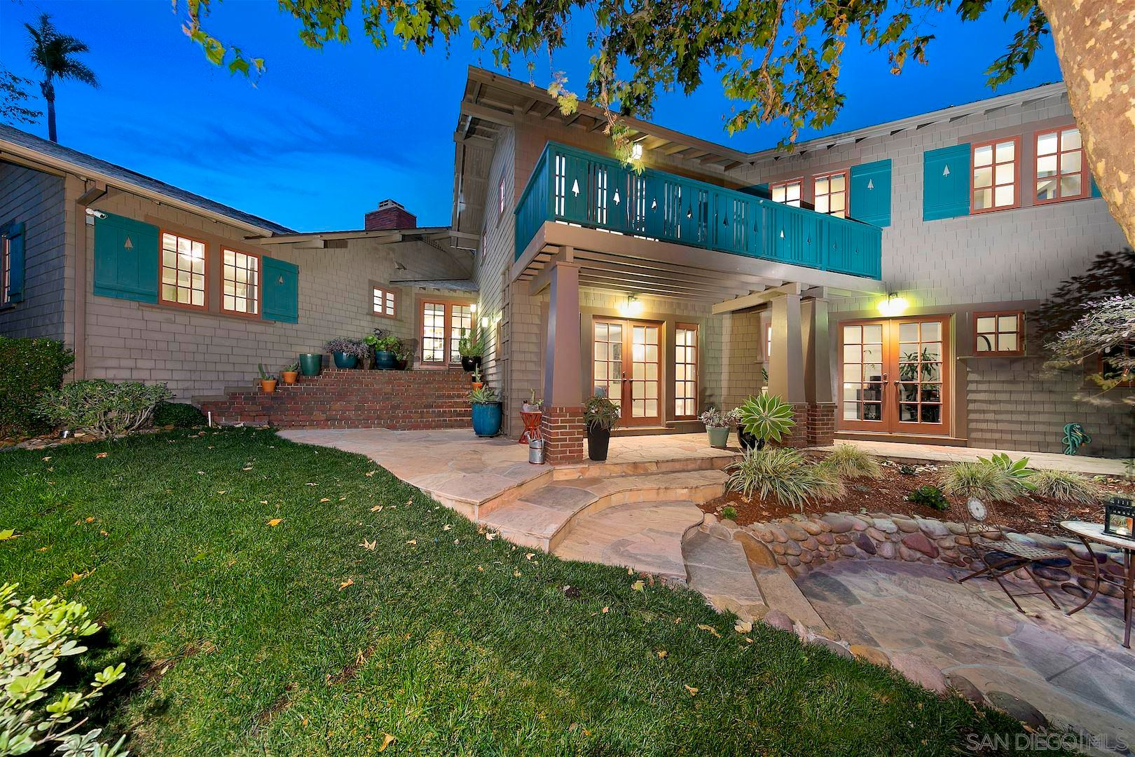 Main Photo: SAN DIEGO House for sale : 4 bedrooms : 4355 Hortensia St