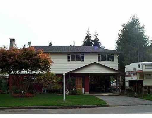 Main Photo: 22942 ROGERS AV in Maple Ridge: East Central House for sale : MLS®# V531824