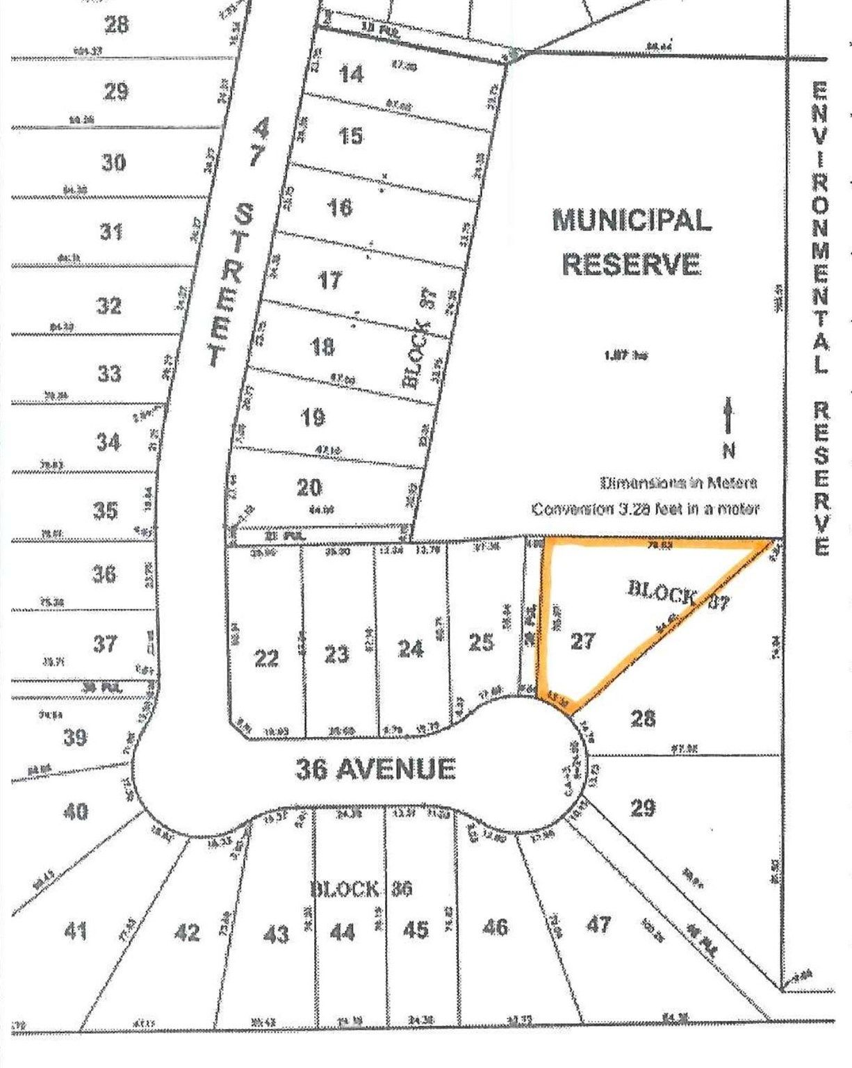 Main Photo: 4606 36 Avenue: Gibbons Vacant Lot for sale : MLS®# E4258152