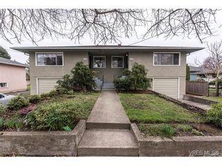 Photo 1: 1607 Chandler Ave in VICTORIA: Vi Fairfield East Half Duplex for sale (Victoria)  : MLS®# 753476