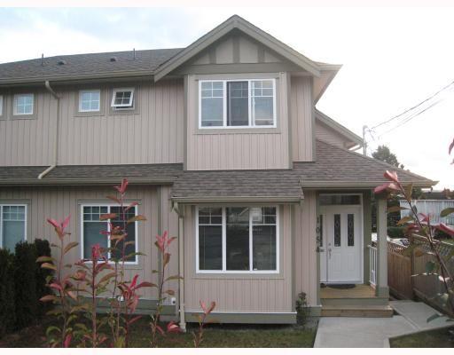 Main Photo: 1054 DELESTRE Avenue in Coquitlam: Maillardville 1/2 Duplex for sale : MLS®# V750137