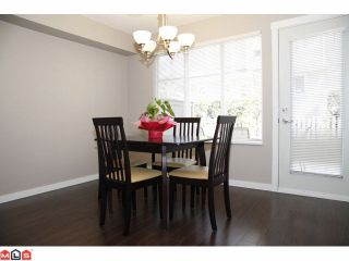 "Photo 6: 44 6651 203RD Street in Langley: Willoughby Heights Townhouse for sale in ""SUNSCAPE"" : MLS®# F1009765"