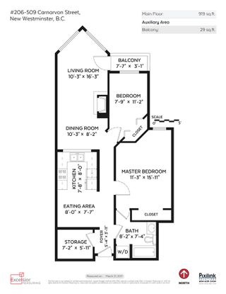 """Photo 16: 206 509 CARNARVON Street in New Westminster: Downtown NW Condo for sale in """"HILLSIDE PLACE"""" : MLS®# R2150025"""