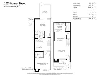 """Photo 20: 1063 HOMER Street in Vancouver: Yaletown Townhouse for sale in """"Domus"""" (Vancouver West)  : MLS®# R2591006"""