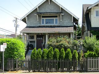 Photo 1: 2026 MACDONALD Street in Vancouver: Kitsilano House for sale (Vancouver West)  : MLS®# V1130765