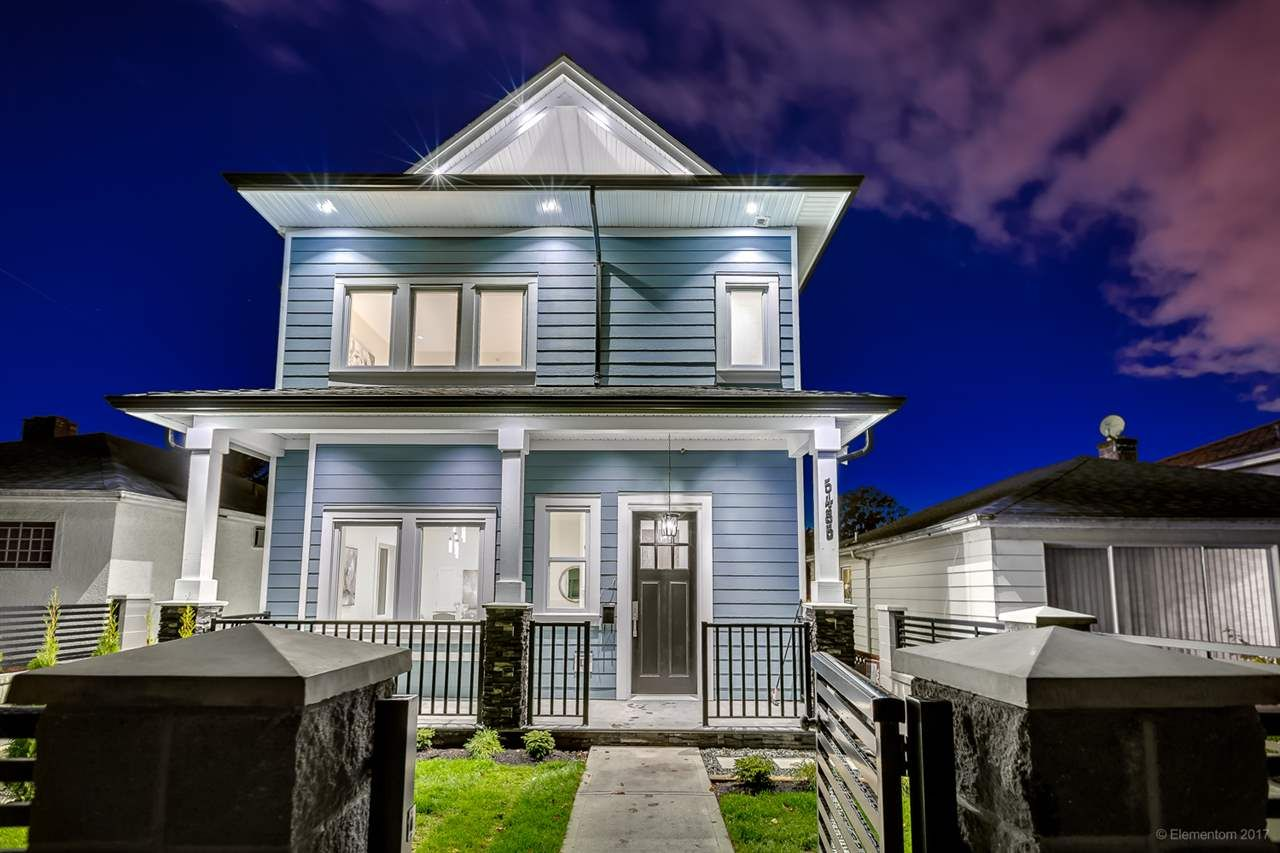 Main Photo: 5485 DUNDEE Street in Vancouver: Collingwood VE 1/2 Duplex for sale (Vancouver East)  : MLS®# R2250989