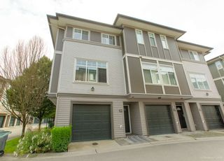 """Main Photo: 50 1010 EWEN Avenue in New Westminster: Queensborough Townhouse for sale in """"Windsor Mews"""" : MLS®# R2468809"""