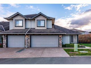 "Photo 1: 86 6449 BLACKWOOD Lane in Chilliwack: Sardis West Vedder Rd Townhouse for sale in ""Cedar Park"" (Sardis)  : MLS®# R2529029"