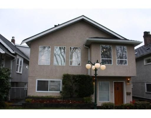 Main Photo: 3058 West 12th Avenue in Vancouver: Kitsilano VW Multifamily for sale ()  : MLS®# V921038