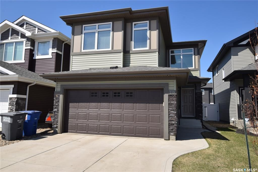 Main Photo: 219 Dagnone Lane in Saskatoon: Brighton Residential for sale : MLS®# SK851131