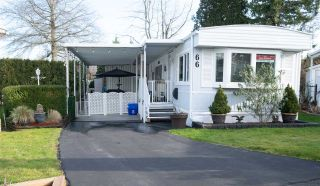 Photo 2: 66 1840 160 Street in Surrey: King George Corridor Manufactured Home for sale (South Surrey White Rock)  : MLS®# R2534834