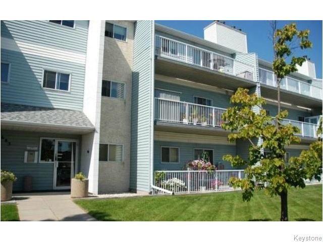 Main Photo: 311 1683 Plessis Road in Winnipwg: Transcona Condominium for sale (North East Winnipeg)  : MLS®# 1519474