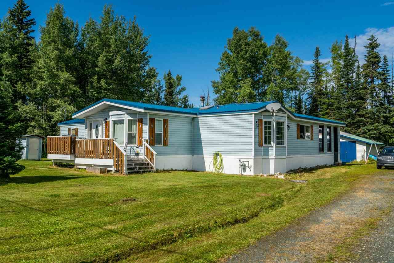 Main Photo: 11180 GRASSLAND Road in Prince George: Shelley Manufactured Home for sale (PG Rural East (Zone 80))  : MLS®# R2488673