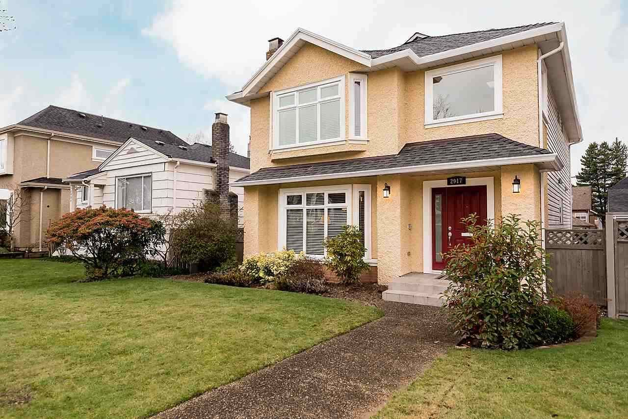 Main Photo: 2917 W 22ND AVENUE in Vancouver: Arbutus House for sale (Vancouver West)  : MLS®# R2077361