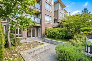 "Photo 1: 106 2175 FRASER Avenue in Port Coquitlam: Glenwood PQ Condo for sale in ""THE RESIDENCES ON SHAUGHNESSY"" : MLS®# R2575839"