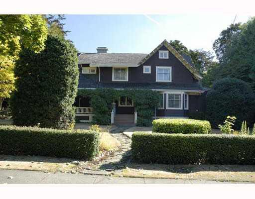 Main Photo: 3738 HUDSON STREET in : Shaughnessy House for sale : MLS®# V654289