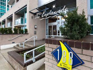 Photo 7: 703 188 E ESPLANADE Street in North Vancouver: Lower Lonsdale Condo for sale : MLS®# V859653