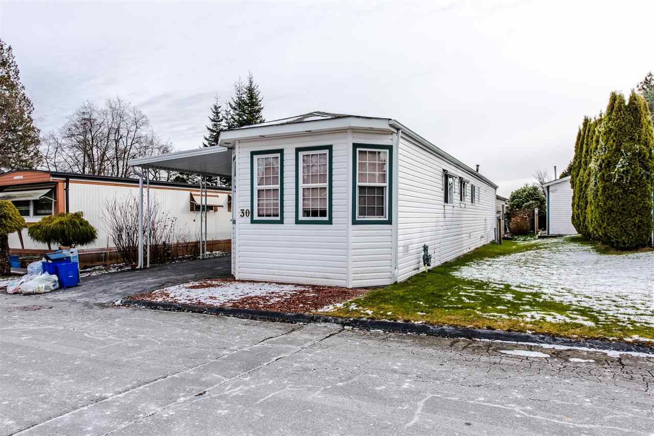 "Main Photo: 30 1840 160 Street in Surrey: King George Corridor Manufactured Home for sale in ""Breakaway Bays"" (South Surrey White Rock)  : MLS®# R2339199"