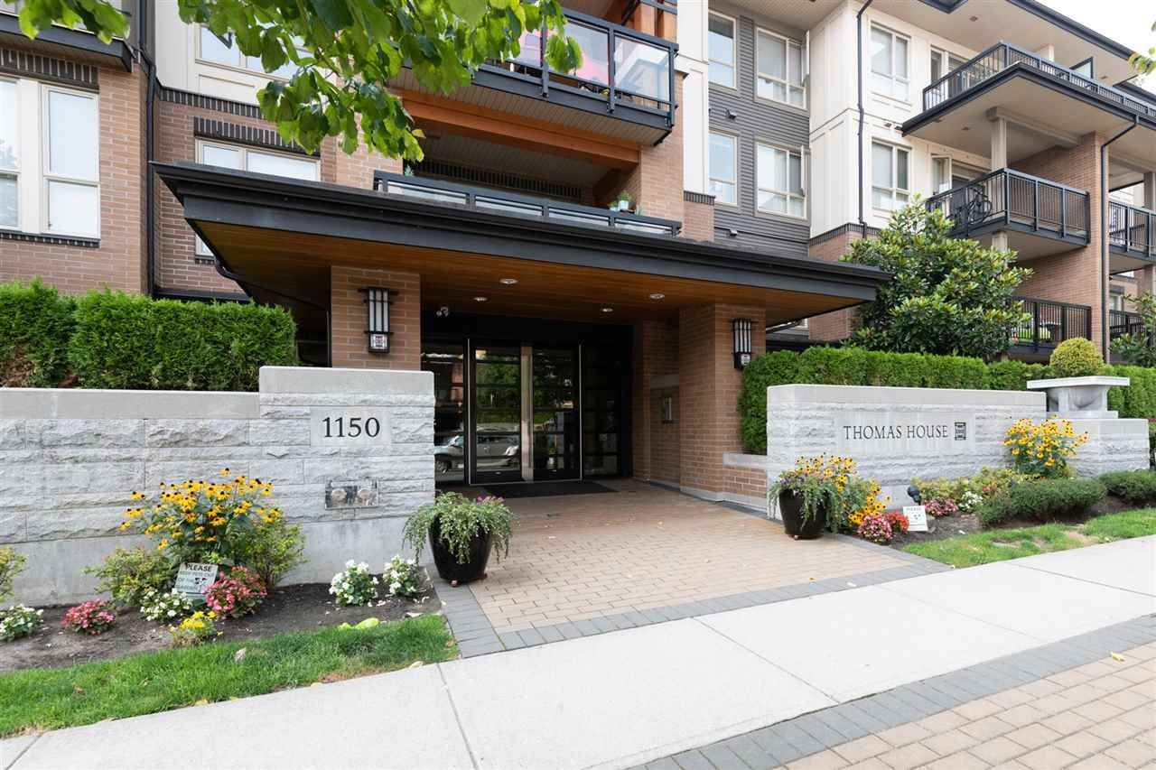 """Main Photo: 310 1150 KENSAL Place in Coquitlam: New Horizons Condo for sale in """"THOMAS HOUSE"""" : MLS®# R2297775"""