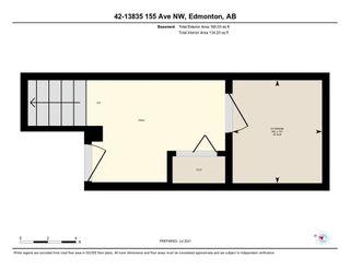 Photo 37: 42 13825 155 Avenue in Edmonton: Zone 27 Townhouse for sale : MLS®# E4254174