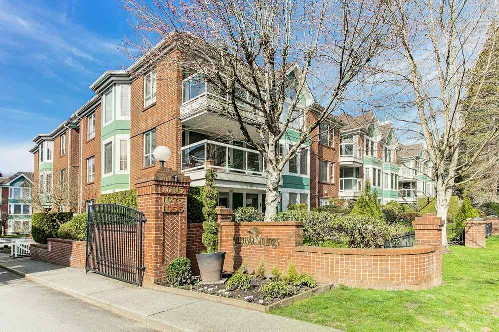 """Main Photo: 105 1655 AUGUSTA Avenue in Burnaby: Simon Fraser Univer. Condo for sale in """"Augusta Springs"""" (Burnaby North)  : MLS®# R2551083"""