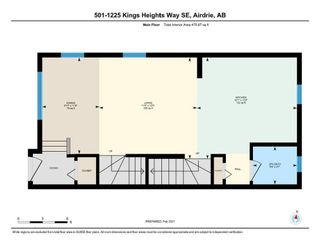 Photo 24: 501 1225 Kings Heights Way: Airdrie Row/Townhouse for sale : MLS®# A1064364