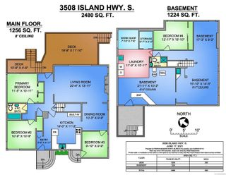 Photo 45: 3508 S Island Hwy in Courtenay: CV Courtenay South House for sale (Comox Valley)  : MLS®# 888292