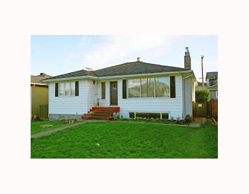 Main Photo: 3268 W 16TH Ave in Vancouver: Arbutus House for sale (Vancouver West)  : MLS®# V641638