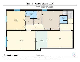 Photo 39: 15411 110 Avenue in Edmonton: Zone 21 House for sale : MLS®# E4251580