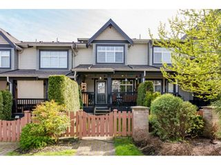 """Photo 1: 53 19448 68 Avenue in Surrey: Clayton Townhouse for sale in """"Nuovo"""" (Cloverdale)  : MLS®# R2260953"""