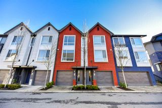 """Photo 1: 24 2310 RANGER Lane in Port Coquitlam: Riverwood Townhouse for sale in """"Fremont Blue"""" : MLS®# R2421395"""