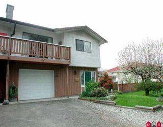 Main Photo: 11234 88A AV in Delta: Annieville 1/2 Duplex for sale (N. Delta)  : MLS®# F2505899