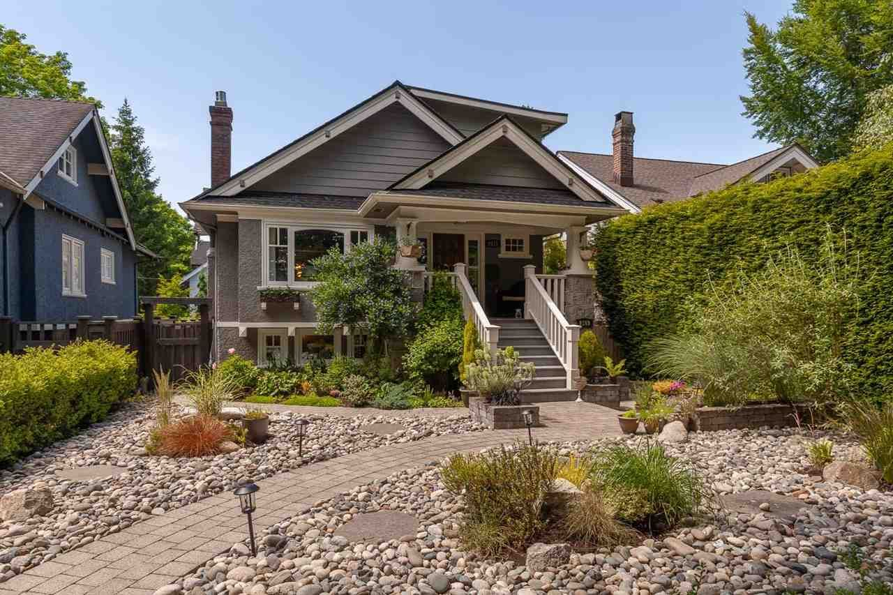 Main Photo: 2171 WATERLOO Street in Vancouver: Kitsilano House for sale (Vancouver West)  : MLS®# R2591587