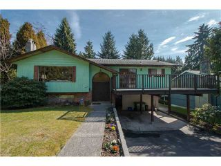 Photo 1: 4570 HOSKINS RD in North Vancouver: Lynn Valley House for sale : MLS®# V1052431
