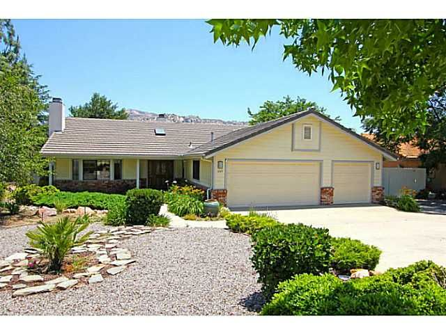 Main Photo: RAMONA House for sale : 4 bedrooms : 16319 Wikiup Road