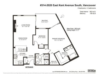 """Photo 28: 314 2020 E KENT AVENUE SOUTH in Vancouver: South Marine Condo for sale in """"Tugboat Landing"""" (Vancouver East)  : MLS®# R2538766"""