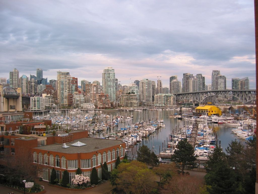 Main Photo: 609-1450 PENNYFARTHING Drive in Vancouver: Kitsilano Condo for sale (Vancouver West)