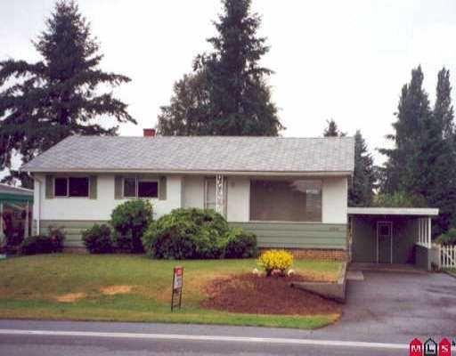 Main Photo: 33553 LYNN AV in Abbotsford: Central Abbotsford House for sale : MLS®# F2602674