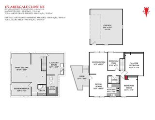 Photo 2: 172 Abergale Close NE in Calgary: Abbeydale Row/Townhouse for sale : MLS®# A1151521