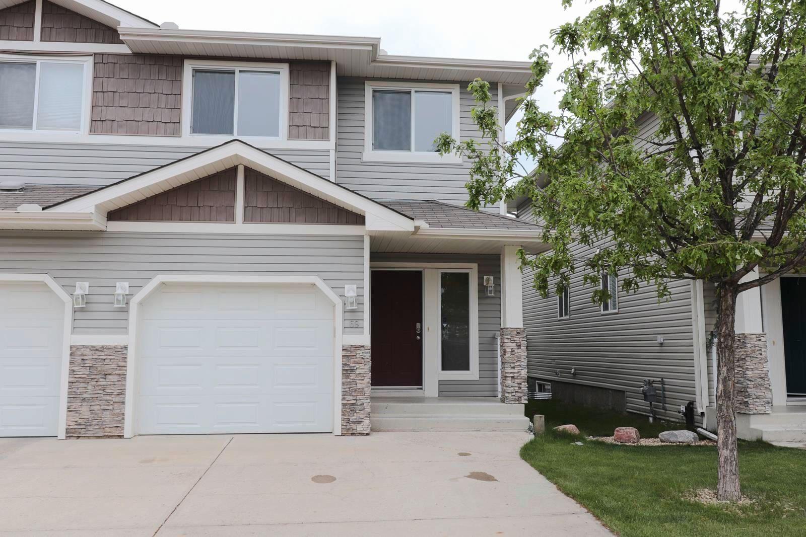 Main Photo: 69 133 EASTGATE Way: St. Albert House Half Duplex for sale : MLS®# E4249089