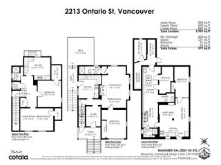 Photo 40: 2213 ONTARIO Street in Vancouver: Mount Pleasant VW House for sale (Vancouver West)  : MLS®# R2583696