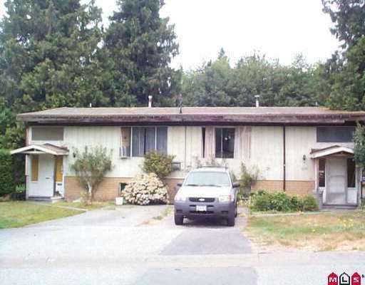 """Main Photo: 11393 GLEN AVON DR in Surrey: Bolivar Heights Duplex for sale in """"Bolivar Heights"""" (North Surrey)  : MLS®# F2517277"""