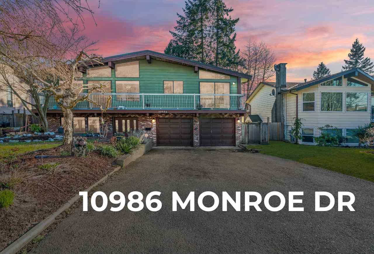 Main Photo: 10986 MONROE Drive in Delta: Nordel House for sale (N. Delta)  : MLS®# R2556849
