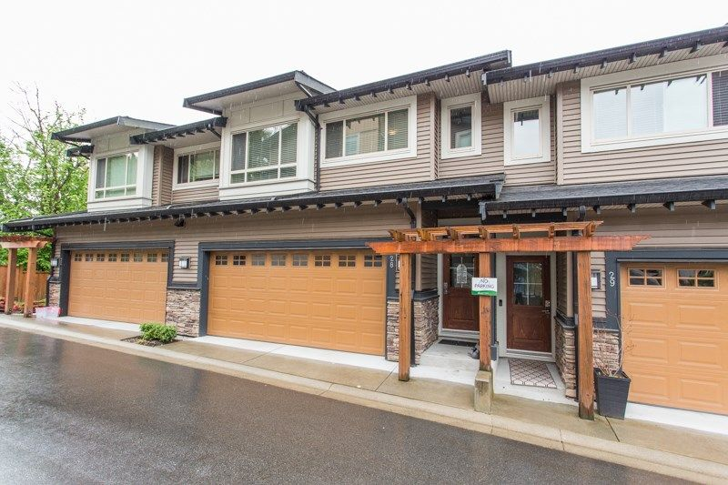 Main Photo: 28 23986 104 AVENUE in : Albion Townhouse for sale : MLS®# R2455827
