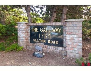 Photo 10: 107 1755 SALTON Road in The Gateway: Home for sale : MLS®# F1010801